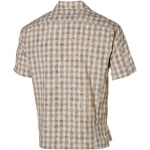 Mountain Hardwear chisholm shirt  男性涼爽透氣短袖襯衫--銀灰色M號 #OM2195/零碼五折出清
