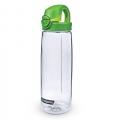 Nalgene Tritan OTF 運動型水壺(透明色+綠蓋)