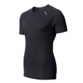 ODLO #140042 Shirt s/s CUBIC 男性銀纖維短袖排汗內衣(深灰色--補貨中)