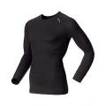 ODLO #140052 Shirt l/s CUBIC 男性銀纖維長袖排汗內衣(鐵灰色)