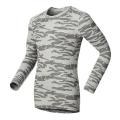 ODLO #150192-15706 男圓領領長袖機能保暖型排汗內衣(灰迷彩M號/8折)