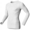 ODLO #152022 男圓領長袖機能保暖型排汗內衣--白色L~2L號