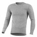 ODLO #152022 男圓領長袖機能保暖型排汗內衣(灰色M~2L)