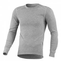ODLO #152022 男款 圓領長袖機能保暖型排汗內衣--灰色M~XL號