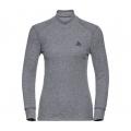 ODLO #152011-15700 女款高領長袖機能保暖型排汗內衣(灰色S~XL)