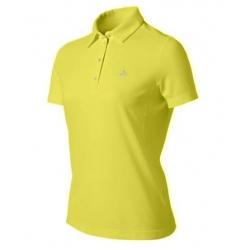 ODLO #200761-47500 Polo shirt 女性銀離子抗UV短袖POLO衫--檸檬黃L號/零碼五折出清