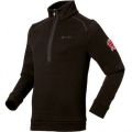 ODLO #220592 VIA MEZDI Stand-up collar ½ zip 男性THERMAL PRO 半門襟保暖上衣(黑色XL號 七折出清)