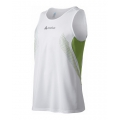 ODLO #344202 T-shirt sleeveless crew neck KOBE Singlet 男性快乾排汗背心(綠色M、L號) 五折出清
