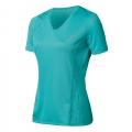 ODLO #344631 女性銀纖維透氣短袖V領排汗衫(26700,藍色XL號) 五折出清/運費另計