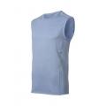 ODLO #344712 T-shirt sleeveless crew neck ASTI 男性排汗背心(藍色M號 五折出清/運費另計)