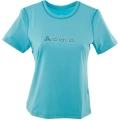 ODLO AMES #344731 女性銀纖維透氣短袖圓領排汗衫(26700,藍色) 五折出清/運費另計