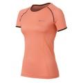 ODLO #346601 女性銀纖維透氣短袖圓領排汗衫(30037,螢光粉 L號 七折出清)