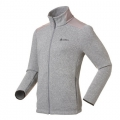 ODLO #522502 MYSTERY Jacket 男性THERMAL PRO 刷毛保暖外套--深麻灰L、XL號/過季七折出清