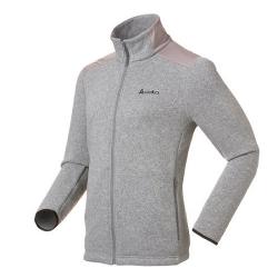 ODLO #522502 MYSTERY Jacket 男性THERMAL PRO 刷毛保暖外套--深麻灰L、XL號/過季5折出清