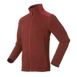 ODLO #522502 MYSTERY Jacket 男性THERMAL PRO 刷毛保暖外套--紅色L、XL號/零碼5折出清