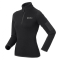 ODLO #522541 FLASHPOINT 女性THERMAL PRO中層保暖上衣--黑色S號/零碼七折出清