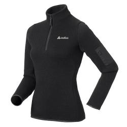 ODLO #522541 FLASHPOINT 女性THERMAL PRO中層保暖上衣(黑色 S號七折出清)