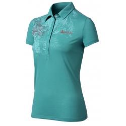 ODLO #522831 Polo shirt SAVANNA 女性銀離子抗UV短袖POLO衫(湖綠色M號) 五折出清/運費另計
