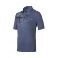 ODLO #522832 Polo shirt SAVANNA 男性銀離子抗UV短袖POLO衫(藍色M號 五折出清/運費另計)
