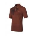 ODLO #522832 Polo shirt SAVANNA 男性銀離子抗UV短袖POLO衫--棕色M、XL號/零碼五折出清