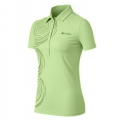 ODLO #524361 Polo shirt EVERY LAYER COUNTS 女性銀離子抗UV短袖POLO衫(淺碧綠S號 七折出清)