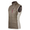 ODLO #524571 女款PRIMALOFT 雙面穿防風保暖背心(淺咖啡XL號)