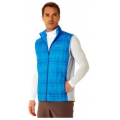 ODLO #524572 男款 PRIMALOFT 雙面穿防風保暖背心(天藍 L號 XL號)