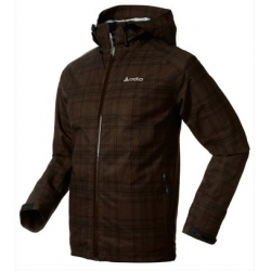 ODLO Jacket SOCHI 3IN1 兩件式防水透氣保暖夾克--棕格紋/黑格紋S~XL號 #524592/過季3折出清/貼條不保固
