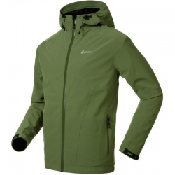 ODLO JACKET SOCHI 3IN1 兩件式防水透氣保暖夾克--綠/黑格紋S~2L號 #524592/零碼3折出清/貼條不保固