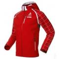 ODLO #524602 JACKET SOCHI Softshell連帽軟殼夾克-瑞士紅L、XL、XXL號 ↘零碼7折出清