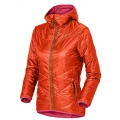 ODLO 女款PRIMALOFT保暖外套  --桔紅 L號#525161-30180/零碼6折出清