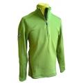 ODLO #540842  TITLIS Stand-up collar ½ zip 男性半門襟彈性保暖上衣(檸檬綠2L號 零碼出清)