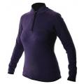 ODLO #541101 女性針織刷毛保暖上衣(紫色)