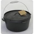 美國OLD MOUNTAIN 鑄鐵鍋-凹蓋平底12吋 #10177
