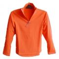 OmnXtreme歐格翠 OX 120064 女立領長袖彈性保暖排汗薄上衣(珊瑚紅) ☆買一送一