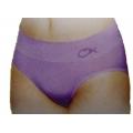 OmnXtreme 女性銀纖維冰涼感三角內褲(淺紫色)