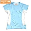 Regatta Flyaway T 女性短袖排汗衣--RB藍色 L/14號/零碼六六折出清
