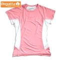 Regatta Flyaway T 女性短袖排汗衫(桃紅色M號) 六六折出清/運費另計
