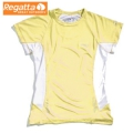 Regatta Flyaway T 女性短袖排汗衫(爆米花黃色12 (M)號) 六六折出清/運費另計