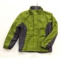 英國 REGATTA單件式 兒童RR防水透氣保暖外套(中間舖保溫棉)/洋薑綠-鐵灰 RKP023(11~12歲 七折出清)
