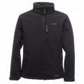 Regatta Cato Fur Backed Softshell 男款防潑水軟殼保暖外套(黑色 XL號)七折出清