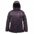 Regatta Tessa 3-in-1 Jacket 女性三合一防水保暖外套(酒紅色)