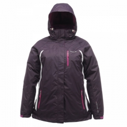 Regatta Tessa 3-in-1 Jacket 女性三合一防水保暖外套(酒紅色12M、14L號)