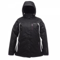 Regatta Tessa 3-in-1 Jacket 女性三合一防水保暖外套(黑色)