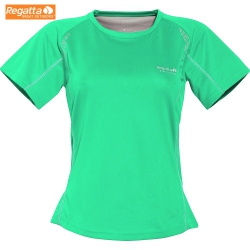 Regatta Ecosphere T 女性竹碳抗菌短袖排汗衫(杉綠色 S , M號) 五折出清/運費另計