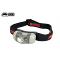 RHINO犀牛 HEADLIGHT 100 lumens  雙光源LED頭燈-灰色 HL-100
