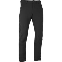 Salomon Contour Pant  M 男用軟殼彈性長褲(SOFTSHELL, 黑色,121313)