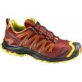 Salomon XA Pro 3D Ultra 2 GTX 男款 防水越野跑鞋--橘/亮黃 UK8號 , 9.5號 #353125/零碼六折出清/鞋面皮質不保固!