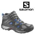 法國Salomon MANILA GTX 防水中筒登山健行鞋 灰 #355325