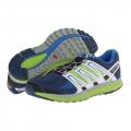 Salomon M X-SCREAM 男款 輕量透氣野跑鞋--藍/亮綠UK8.5~9.5 #361922 /零碼六折出清